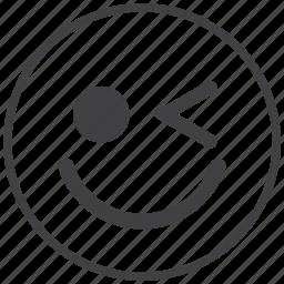 elink, emoticon, smile, smiley icon