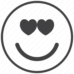 emoticon, love, lovely, lover, smiley icon