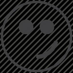 cool, emoticon, happy, smiley icon
