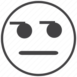 disappointed, emoticon, smiley icon