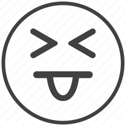 emoticon, happy, joke, smiley icon