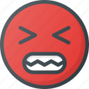 angry, annoyed, bitter, heated, irritable icon