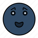 emotion, face, feeling, joy, person, sad, smail icon