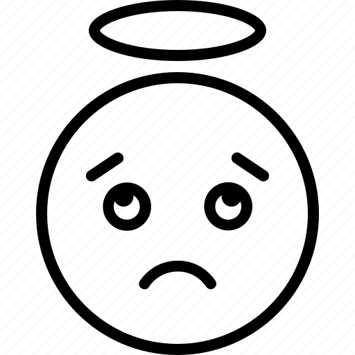confused, dispirited, distressing, gloomy icon