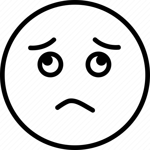 boredom, gloomdoldrums, sadness, worried icon