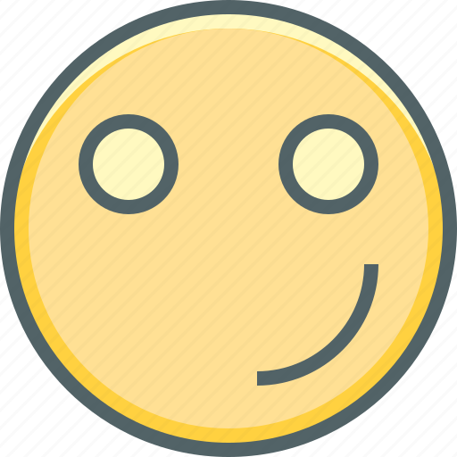 emoji, emotion, expression, happy, innocent, smile, smiley icon