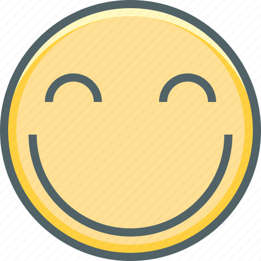 emoji, emotion, expression, happy, like, smile, smiley icon