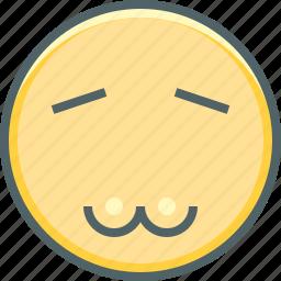 emoji, emoticon, emotion, expression, face, mood, troll icon
