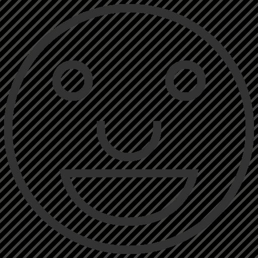 avatar, emoticon, emotion, happy, profile icon