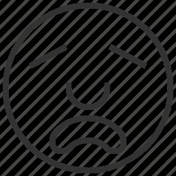 avatar, bad, emoticons, emotion, hate, people icon