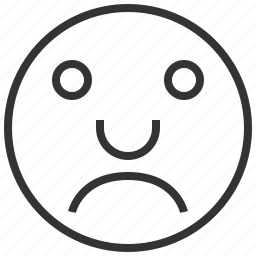 account, avatar, emotion, people, sad icon