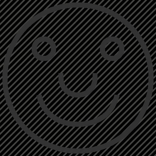 avatar, emoji, emotion, smile icon