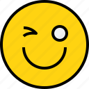 avatar, emoji, emotion, face, feeling, happy icon