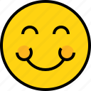 avatar, emoji, emotion, face, feeling, smile icon
