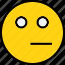 avatar, emoji, emotion, face, feeling, thinking icon