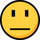 bothered, emoji, emotion, face icon