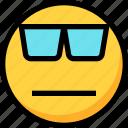 emoji, emotion, face, geek, nerd, people icon