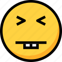 emoji, emotion, face, funny, silly icon