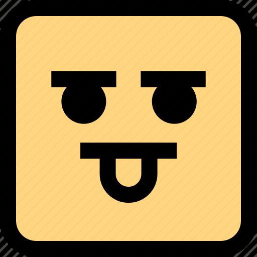 emotion, goofy, smile icon