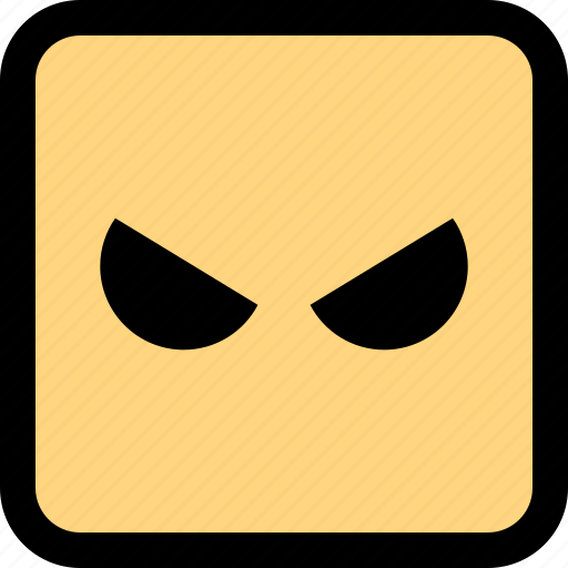 angry, emoji, face, mad icon