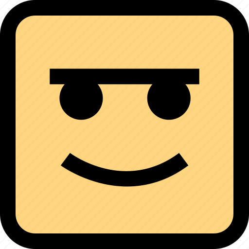 emoji, expression, face, smile icon