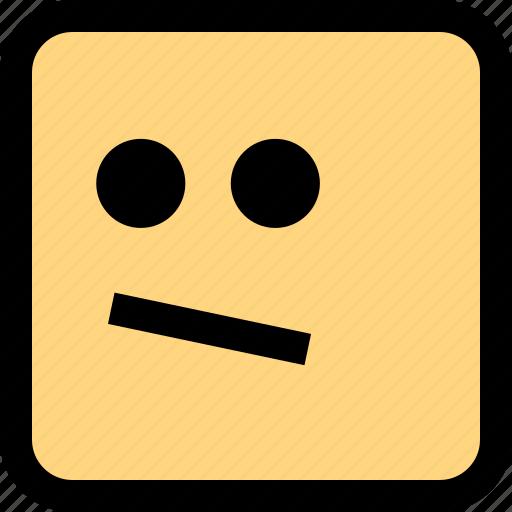 emoji, emotion, staring icon