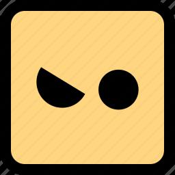 emoji, emotion, wink icon
