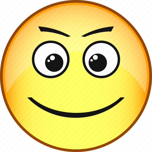 comic, emoji, emoticon, emotion, face, fun, smile icon