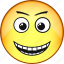 comic, emoji, emoticon, emotion, face, laughter, smile icon