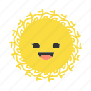 emojis, emoticons, star, stars, sun, suns, weather icon