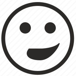 deep, face, grin, irony, smile icon