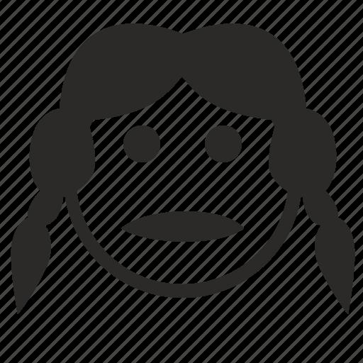 face, girl, lady, pretty, sexy, smile, smiley icon