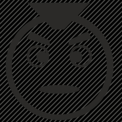 face, punk, rock, smiley icon