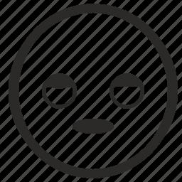 face, man, sleep, sleeping, smiley, tired icon