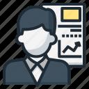 appraisal, evaluation, judge, statistic icon