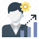 business, improve, skill, skills, up, grow up, growth icon