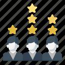 ranking, rating, star