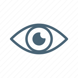 eye, insurance, medical, perks, visual icon