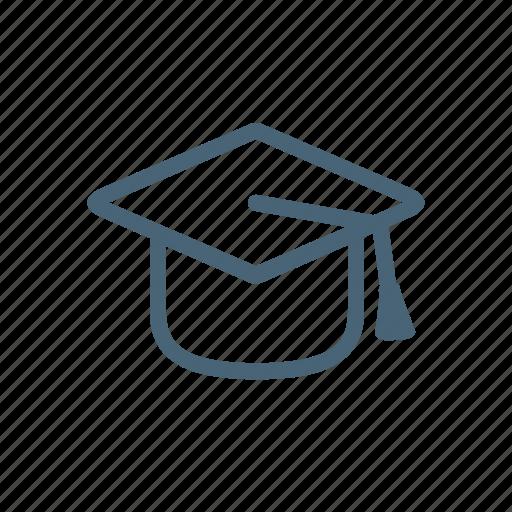 academic, cap, development, education, perks icon