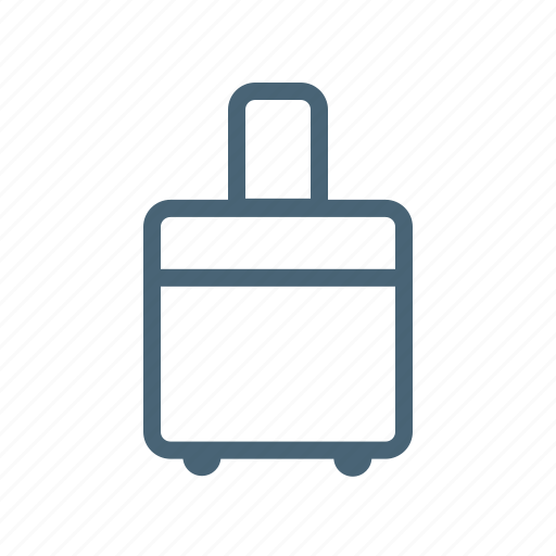 baggage, luggage, perks, trip, vacation icon