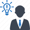 brainstorming, business idea, creativity icon