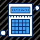 accounting, calculator, math