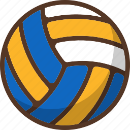 ball, beach, sport, summer, volleyball icon