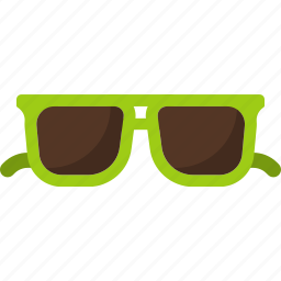 beach, summer, sunglasses icon