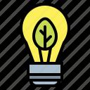 bulb, ecology, energy, environment, homes, light icon