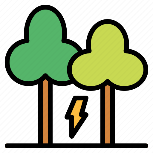 ecology, environment, nature, tree icon