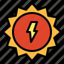meteorology, solar, sun, weather icon