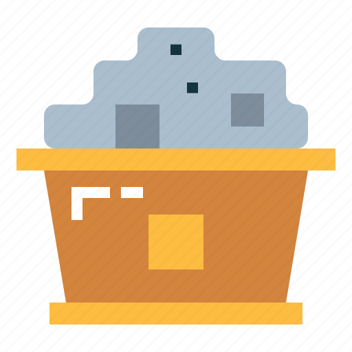 coal, combustible, cook, fire icon