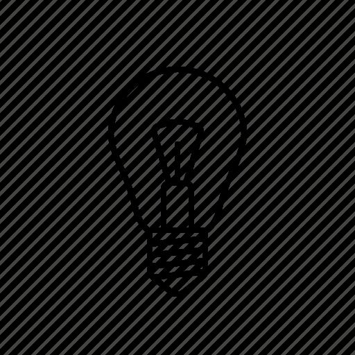 edison lamp, electric, energy, lamp, light icon