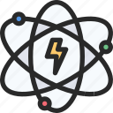 atom, atomic, energy, power, science icon